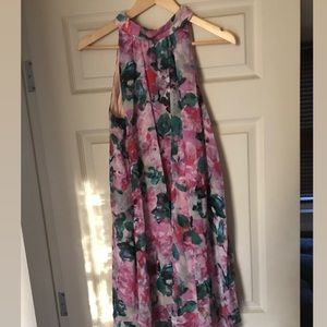 Grandiflora Dress - floral printed swing dress